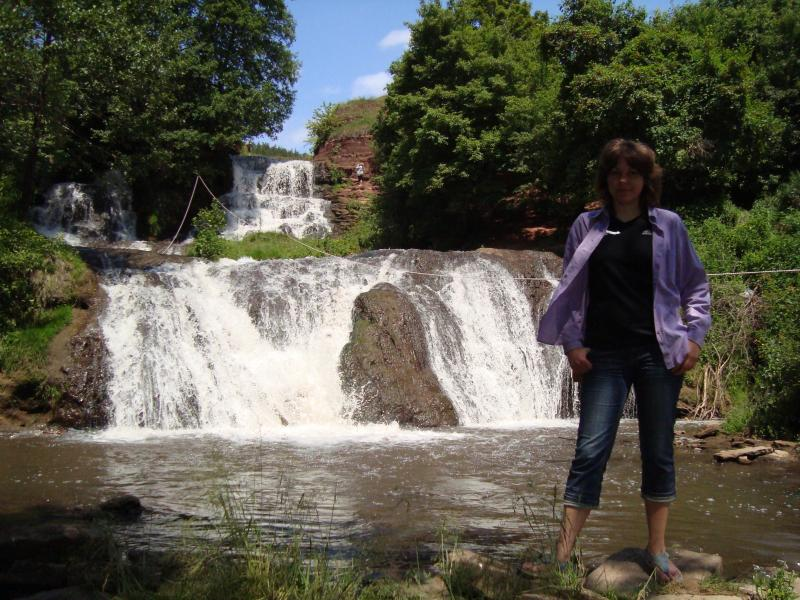 Водоспад на річці Джурин