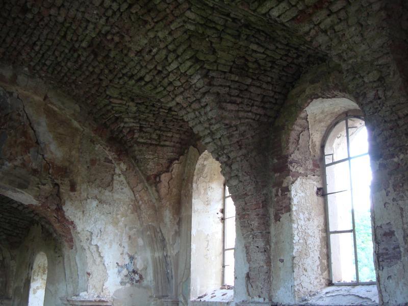 Костел в Червоногруді