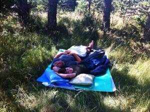 приємно поспати на свіжому повітрі